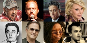 Great Comedians with Stage Names