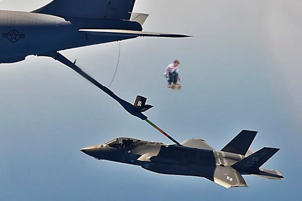 Richie Pasternak Jet Jumping