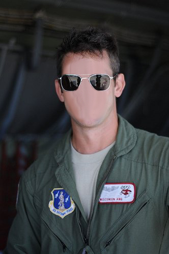 Smythe in Air National Guard