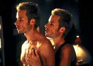 Guy Pearce and Guy Pearce