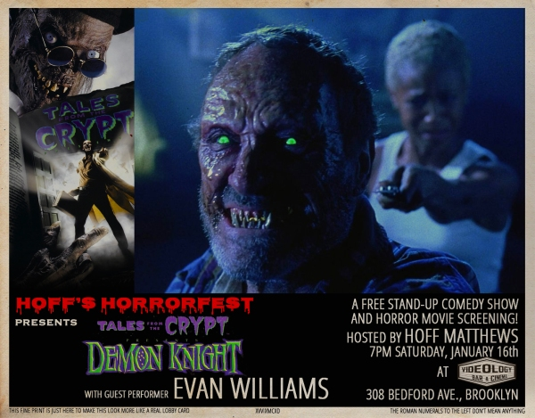 Hoff's Horrorfest Presents: Tales From the Crypt: Demon Knight