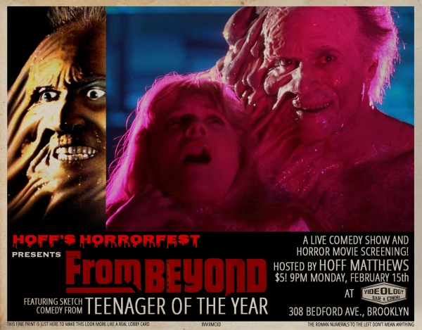 Hoff's Horrorfest Presents: From Beyond!